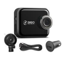 360行车记录仪J501C 停车监控高清夜视广角1080P无线记录仪 标配不带卡【标准升级版】