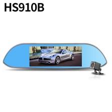 【套餐二】凌度HS910B 7.0寸大屏 1080p+VGA 前后双镜头行车记录仪 170°大广角 WIFI+ADAS安全预警 APP智能应用 实时分享 标配+32G卡+降压线