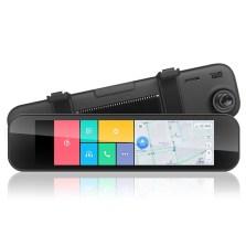 70迈智能后视镜 导航行车记录仪测速电子狗一体机高清夜视+3GB流量+16G高速卡 单镜头
