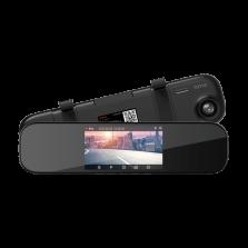 70迈 D04高清夜视智能语音后视镜行车记录仪单镜头