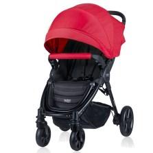 宝得适/Britax 欢行B-nest 婴儿推车可坐躺可折叠婴儿车轻便童车(热情红)