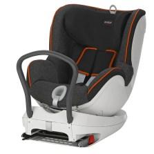 宝得适/Britax 双面骑士Dualfix 儿童安全座椅 isofix  0-4周岁【曜石黑】