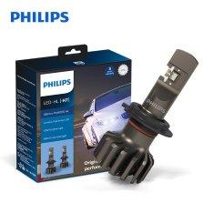 飞利浦/PHILIPS 新极昼光 汽车灯泡大灯近光灯远光灯 改装替换 H7 一对装 白光