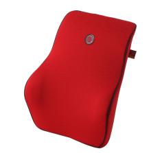吉吉/GiGi 亲肤透气 零压记忆棉 汽车靠垫腰靠【红色】