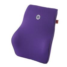 GIGI G-1110 车用记忆棉座椅腰枕 汽车靠垫靠背腰靠【紫色】