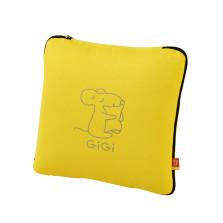 GIGI G-1070(A、E、U)车用护腰靠 大抱枕被子两用 【黄色】
