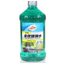 龟牌/Turtle Wax 雨刷精 全效玻璃水 G-4081 苹果绿 【1瓶装】2L(新老包装随机发货:又名:绿宝石G-4081)