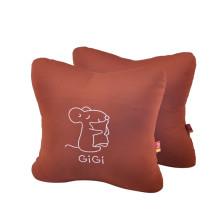GIGI  G-1069 四季车饰车用办公用 可爱抱枕 腰靠垫【棕色】