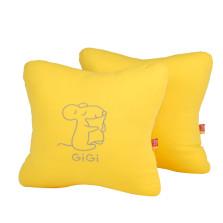 GIGI  G-1069 四季车饰可爱抱枕   【黄色】