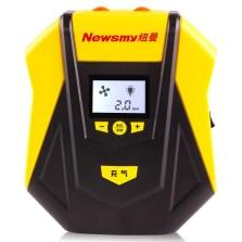 纽曼/Newsmy 凌翼 数显预设车载智能充气泵【黑黄】