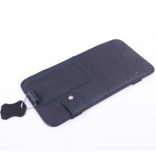 YOOCAR 多功能车用光盘包 真皮遮阳板CD夹【黑色 Y-134】