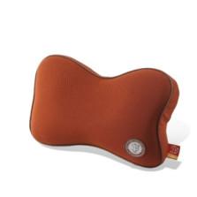GiGi 车用记忆棉护颈枕 头枕靠垫【棕色】