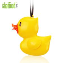 香木町 3D卡通造型香氛挂件 汽车香水 小黄鸭 浪漫邂逅
