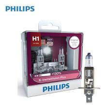 飞利浦/PHILIPS 夜劲光X-treme Vision Plus 3700K H1 12V 55W 升级型卤素灯12258XV+【双只】