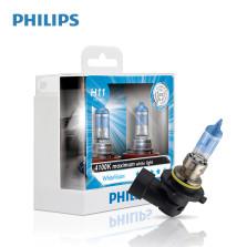 飞利浦/PHILIPS 亮白光White Vision 4100K H11 12V 55W 升级型卤素灯12362WHV【双只】暖白光色