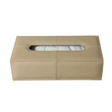 宝乘 腰宝宝系列 真皮座式纸巾盒【米色】【多色可选】