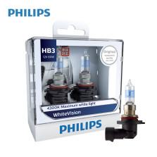飞利浦/PHILIPS 璀璨之光White Vision 4300K HB3/9005 12V 65W(60W) 升级型卤素灯 9005WHV【双只】