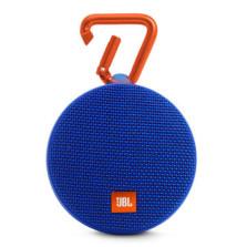 JBL Clip2 音乐盒2 蓝牙便携音箱音响 户外迷你小音响音箱 防水设计 高保真无噪声通话【动感蓝】