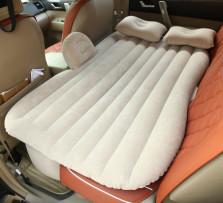 ELENIK 车载旅行床车中床汽车后排充气床垫 SUV和轿车通用 【米色/有档】