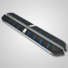 SUVMCH 酷睿款 广汽传祺GS5速博【2018款及之前车型适用】 侧脚踏板 改装迎宾踏板【蓝色】