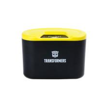 变形金刚 小型收纳盒储物箱 车载垃圾桶【黄黑】