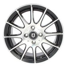 丰途/FT101 15寸低压铸造轮毂 孔距4X114.3 黑色车亮