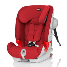 宝得适/Britax 百变骑士 II SICT 二代汽车儿童安全座椅 isofix 9月-12岁(热情红)送价值599元小冰箱