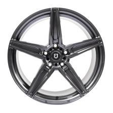 丰途/FT502 18寸低压铸造轮毂 孔距5*120 ET45 亮铁灰 后轮