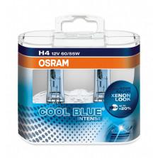 欧司朗/OSRAM 酷蓝二代 H4 12V 60/55W 升级型卤素灯 4200K 64193CBI【双只】暖白光