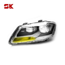 SK 朗逸(老)朗行 13-14年款全系 车灯改装卤素升级LED大灯总成  【银色*左灯】