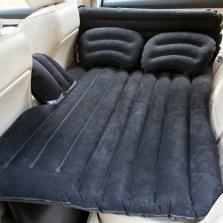 沿途 车载充气床后排旅行床车内后座气垫床 分体有档 护头档 N25 黑色