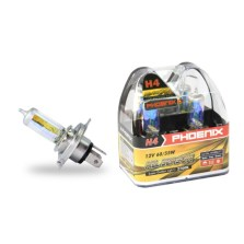 【限时】买就送智能室内温度仪一个/飞尼科斯/PHOENIX 黄金眼升级灯泡 12504  H4(AS)  2700K 60/55W【下单请备注车型】
