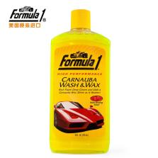 Formula1/芙美乐 美国原装进口 水蜡清洁剂泡沫清洁剂 高性能棕榈洗车蜡水【473ML】