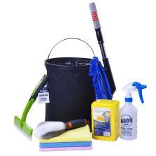 卡饰社(CarSetCity)多用途洗车工具套装洗车套装 洗车刷喷壶洗车毛巾 CSP-28705