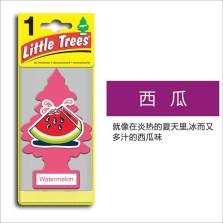 美国小树/Little Trees 汽车香片 香水挂件 除异味车载香水【西瓜味】