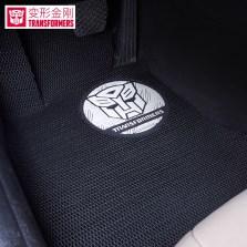 变形金刚 3D系列 五座专车专用汽车脚垫【经典黑色】【多色可选】