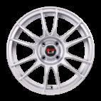 【四只套装】丰途/华固HG2661 14寸 低压铸造轮毂 孔距4X114.3 ET40银色涂装