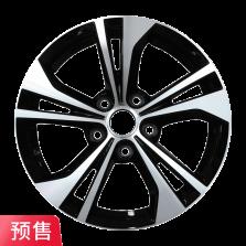 预售 丰途严选/HG501N 16寸 日产轩逸原厂款轮毂 孔距5X114.3 ET40黑色车亮