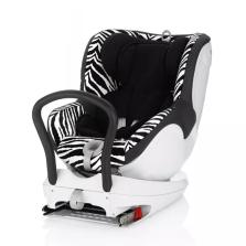 宝得适/Britax 双面骑士Dualfix 儿童安全座椅 isofix  0-4周岁 (小斑马)  送价值599元小冰箱