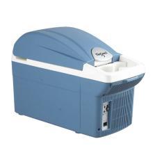 婷微 车载冰箱 CB-08车家两用小冰箱 迷你家用双制冷冰箱【8L标准版 蓝色】