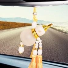 水晶葫芦风水摆件装饰品家居摆设开业送礼办公桌面工艺品