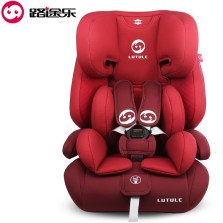 【app券后599】路途乐 汽车儿童安全座椅9月-12岁 ISOFIX接口 3C认证 路路熊Air C【贵族红】