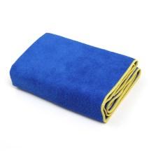 途虎定制 洗车毛巾强吸水大毛巾车用细纤维加厚不易掉毛擦车巾 大号 45*120cm【1条装】