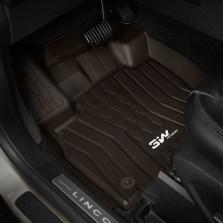 3W 全TPE脚垫林肯MKC MKZ MKX 林肯大陆专车专用无异味健康脚垫【MKZ棕色】