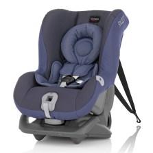 宝得适/Britax 头等舱 白金版 0-4岁双向安装 儿童安全座椅(白金版皇室蓝)