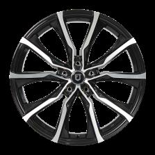 丰途/FT506 18寸 低压铸造轮毂 孔距5X112 ET35黑色车亮