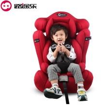 路途乐 儿童汽车安全座椅9个月-12岁 3C认证 路路熊C【贵族红】