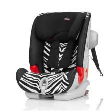 宝得适/Britax 百变骑士 II SICT 二代汽车儿童安全座椅 isofix 9月-12岁(小斑马) 送价值599元小冰箱