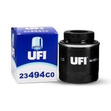 【20μm级精密过滤】意大利 欧菲/UFI 高性能长效型 机油滤清器 23.494.C0