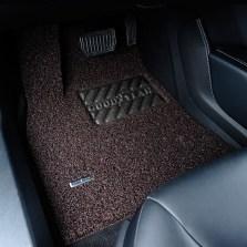 固特异飞足系列5座薄款丝圈三件套专车专用脚垫 17mm厚度【香颂咖】